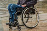 Disabile in carrozzella